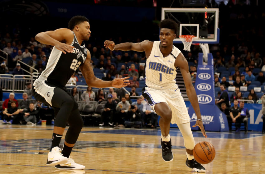 Jonathan Isaac's offensive development might be the key to a bright future for the Orlando Magic. (Photo by Sam Greenwood/Getty Images)