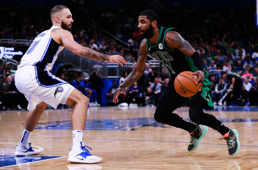 Kyrie Irving has always marched to his own drum. But the concerns he raises about the NBA's return plan is valid. (Photo by Harry Aaron/Getty Images)