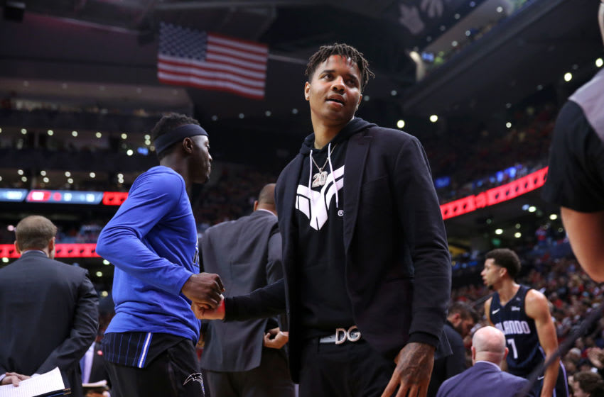 Even though Markelle Fultz is generating a lot of interest and discussion, it is unclear when he will play for the Orlando Magic. (Photo by David Sherman/NBAE via Getty Images)