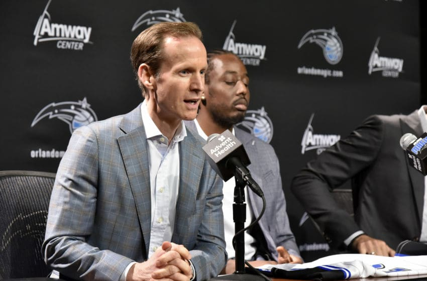 Orlando Magic president of basketball operations Jeff Weltman stuck to his playoff philosophy at the trade deadline. (Photo by Gary Bassing/NBAE via Getty Images)