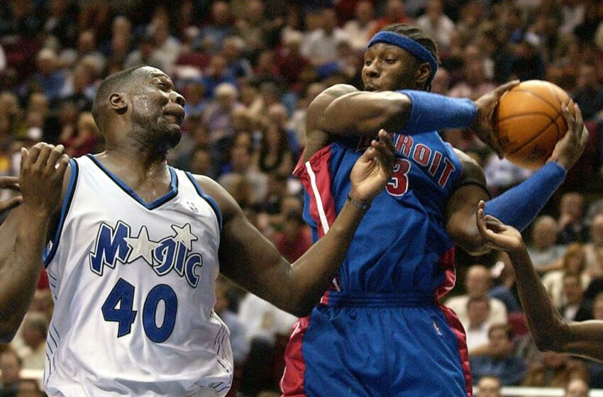 Ben Wallace carved his career with the Detroit Pistons but got his start with the Orlando Magic's Heart & Hustle team. Photo by TONY RANZE / AFP)