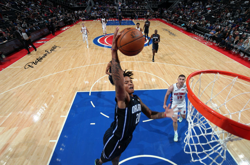 Markelle Fultz again looked impressive in the Orlando Magic's preseason win over the Detroit Pistons. (Photo by Brian Sevald/NBAE via Getty Images)