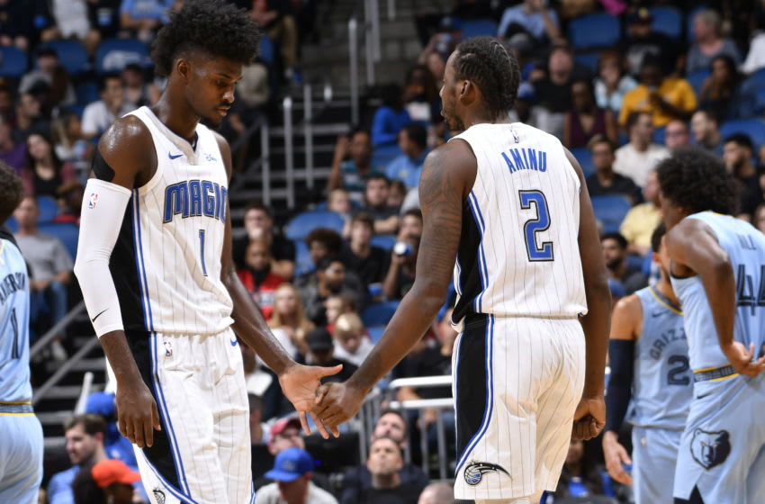 Both Jonathan Isaac and Al-Farouq Aminu will miss serious time for the Orlando Magic. (Photo by Fernando Medina/NBAE via Getty Images)