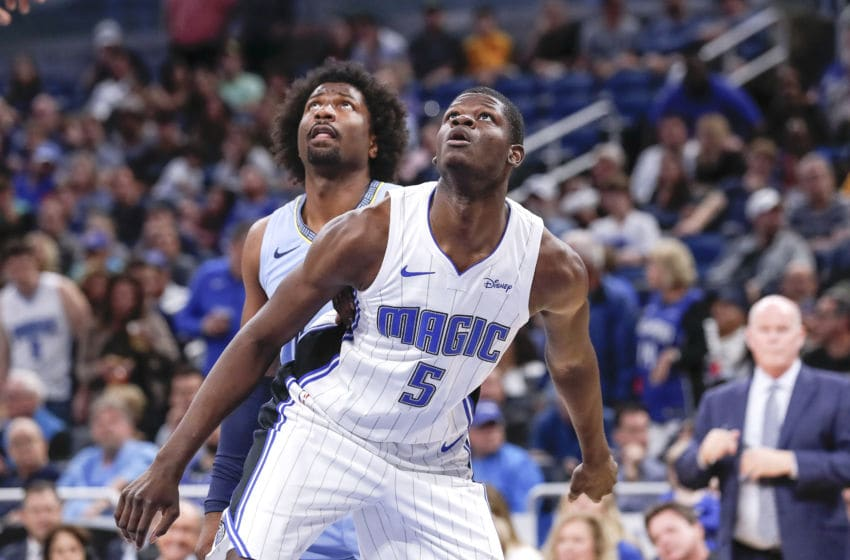 Mohamed Bamba is making progress for the Orlando Magic. But subtly and slowly. (Photo by Don Juan Moore/Getty Images)