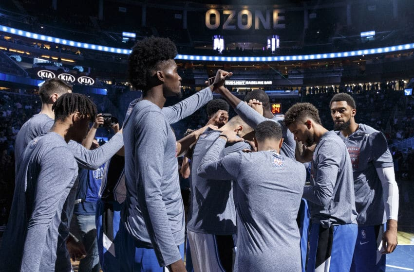 The Orlando Magic are eager to huddle up again and get back to work. (Photo by Don Juan Moore/Getty Images)