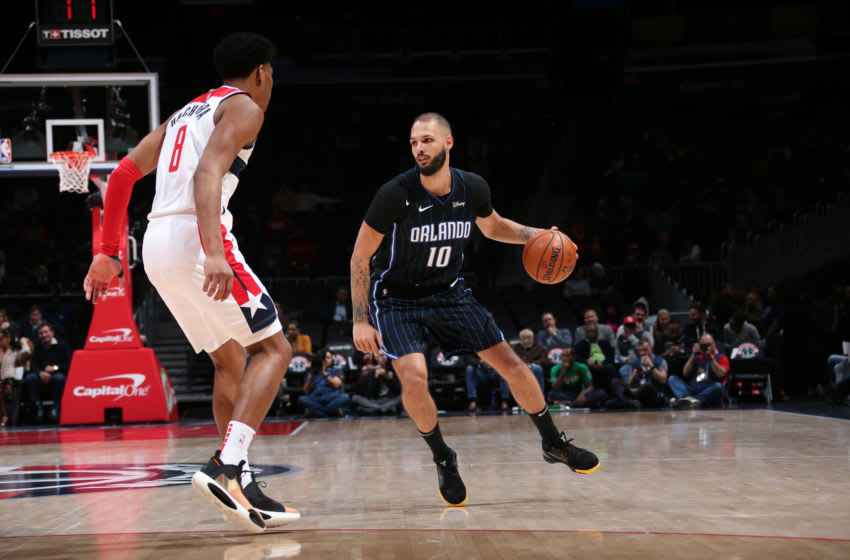 Evan Fournier has been rock solid for the Orlando Magic through the first quarter of the season. (Photo by Ned Dishman/NBAE via Getty Images)