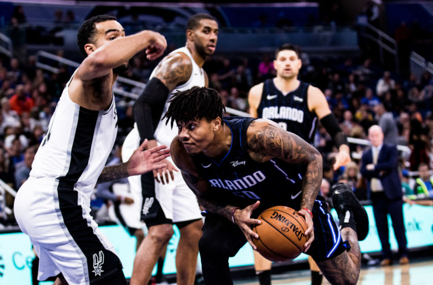 Markelle Fultz was able to power the Orlando Magic through some lackluster moments in the team's win over the San Antonio Spurs. (Photo by Harry Aaron/Getty Images)