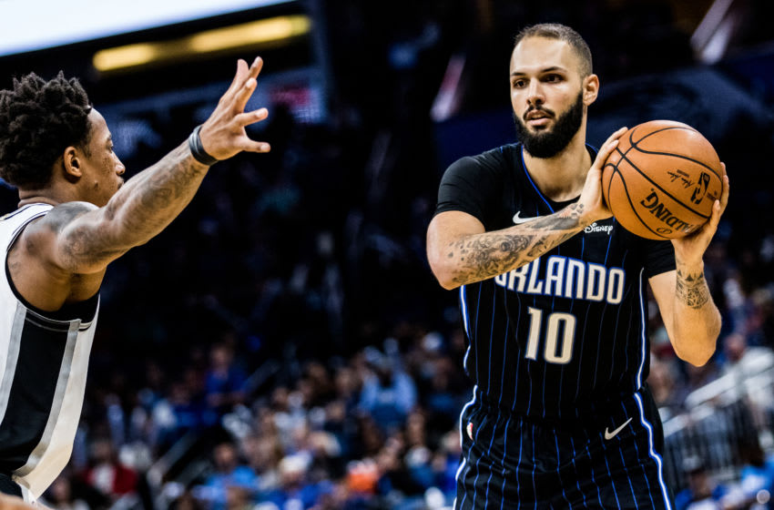 Evan Fournier had a lot to prove as he tried to get the Orlando Magic back to the playoffs. (Photo by Harry Aaron/Getty Images)