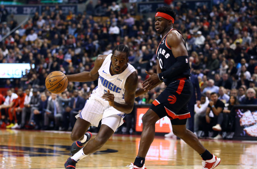 The Orlando Magic got plenty of defense from Al-Farouq Aminu, but he struggled to finish around the rim in a difficult injury-filled season. (Photo by Vaughn Ridley/Getty Images)