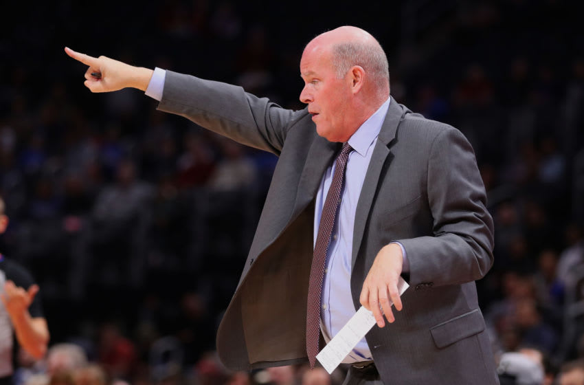 Orlando Magic coach Steve Clifford is trying to map out how to prepare his team for the season's restart. But there is no blueprint for this. (Photo by Gregory Shamus/Getty Images)