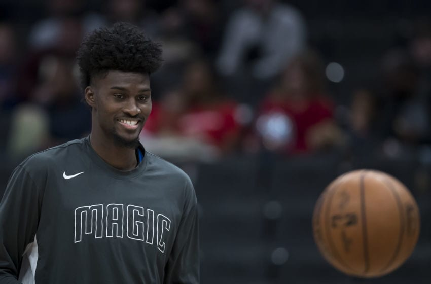 Jonathan Isaac is stepping up to give back to Orlando during the coronavirus pandemic. (Photo by Scott Taetsch/Getty Images)
