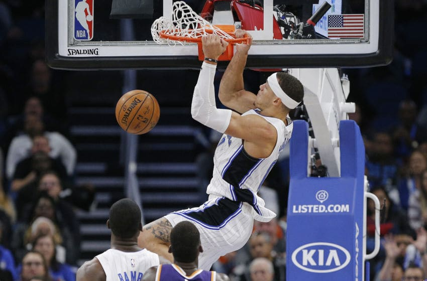 Aaron Gordon finally got his dunk on in a breakout 32-point performance for the Orlando Magic in the win over the Phoenix Suns. (Photo by Michael Reaves/Getty Images)