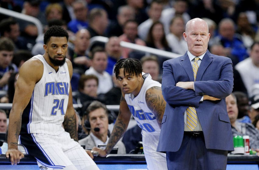 Steve Clifford has hung his hat on being a strong communicator as he builds the Orlando Magic's foundation. (Photo by Michael Reaves/Getty Images)