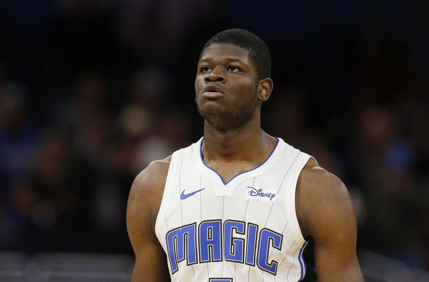 Mohamed Bamba used the hiatus to put on noticeable weight before the Orlando Magic returned. (Photo by Michael Reaves/Getty Images)