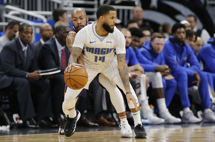 D.J. Augustin will play a key role off the bench for the Orlando Magic as they try to climb to seventh. (Photo by Michael Reaves/Getty Images)