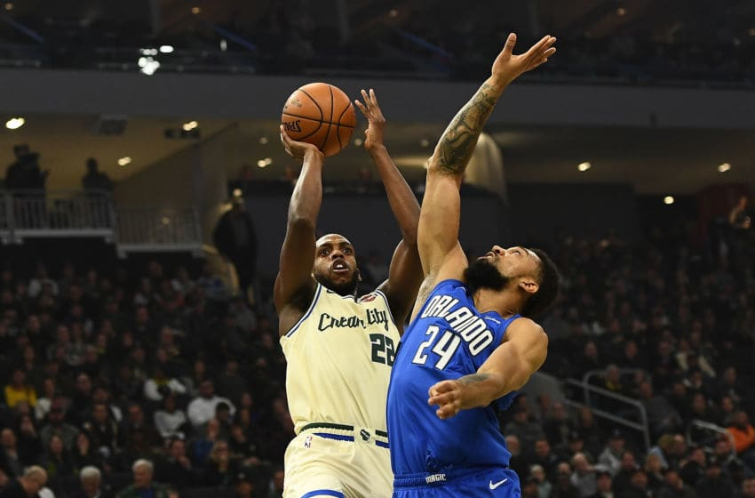 Khem Birch has filled in for Nikola Vucevic as best he could, but the Orlando Magic clearly miss Vucevic's consistency and attention to detail. (Photo by Stacy Revere/Getty Images)