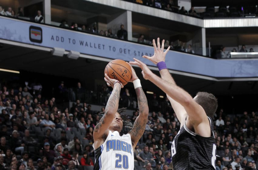 Markelle Fultz stood out offensively against the Sacramento Kings as he bounced back from a big mistake in Friday's loss for the Orlando Magic. (Photo by Rocky Widner/NBAE via Getty Images)