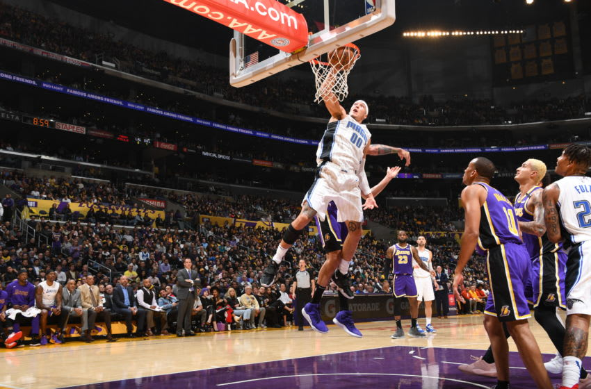 The Orlando Magic's win over the Los Angeles Lakers was a sign of the team's growing confidence. (Photo by Andrew D. Bernstein/NBAE via Getty Images)