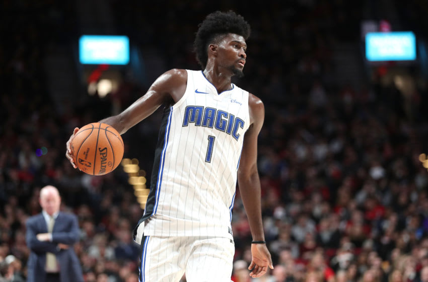 Jonathan Isaac is one of the few players on the Orlando Magic that saw a ratings boost in NBA 2K21. (Photo by Abbie Parr/Getty Images)