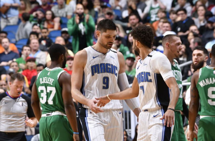 Nikola Vucevic and Michael Carter-Williams went through the lows of last season before the big run to save the season. (Photo by Fernando Medina/NBAE via Getty Images)