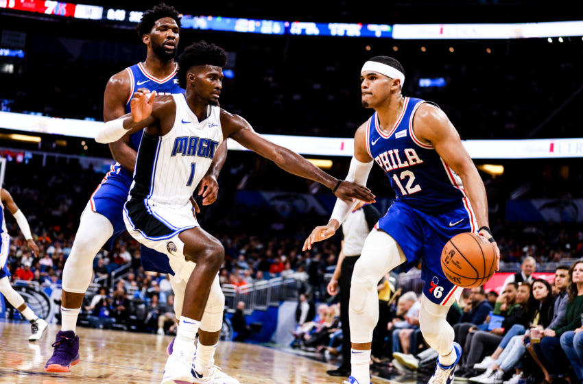 The Orlando Magic's defense has shown some new spirit the last two outings. (Photo by Harry Aaron/Getty Images)