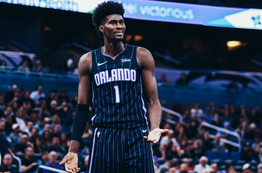 Jonathan Isaac is making progress in his return from injury as the NBA's hiatus bought the Orlando Magic forward some time to recover. (Photo by Harry Aaron/Getty Images)