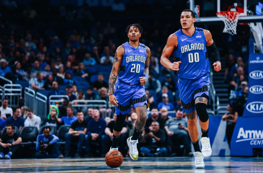Markelle Fultz and Aaron Gordon are part of a future for the Orlando Magic that includes no clear All-Star. (Photo by Harry Aaron/Getty Images)