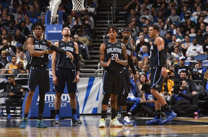 The Orlando Magic's continued struggles to find offensive rhythm and support their defense has them staring the future. (Photo by Gary Bassing/NBAE via Getty Images)
