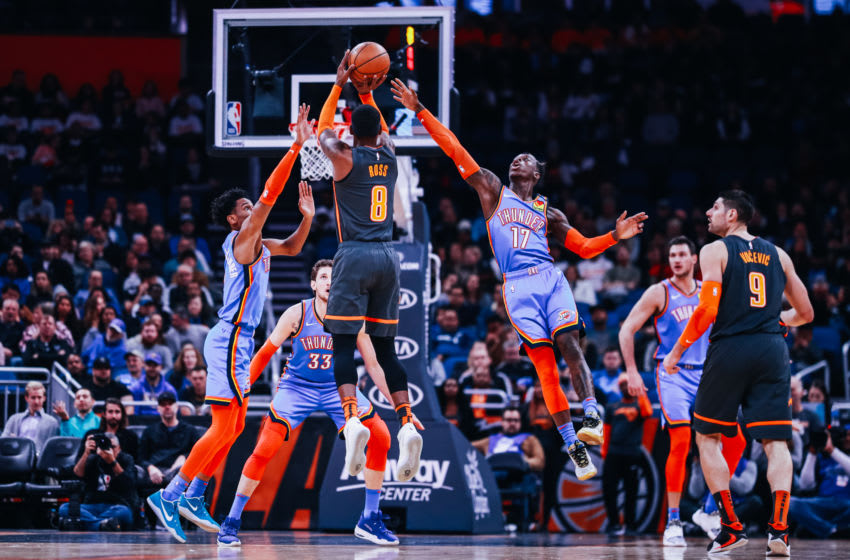 Terrence Ross has struggled to find his range this season as the Orlando Magic's sixth man has seen a significant regression. (Photo by Harry Aaron/Getty Images)