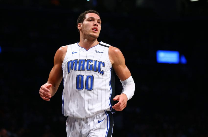 Aaron Gordon has made education his main cause for his charitable efforts. And he made another major contribution during the coronavirus pandemic. (Photo by Mike Stobe/Getty Images)