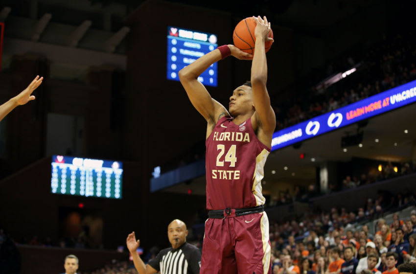 Florida State Seminoles guard Devin Vassell is at the top of most Orlando Magic fans' draft boards. (Photo by Ryan M. Kelly/Getty Images)
