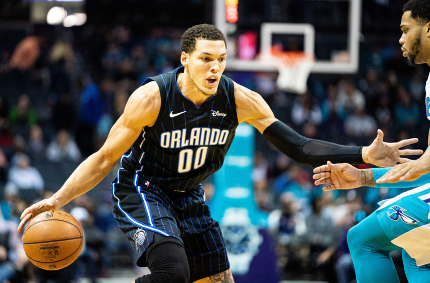 Aaron Gordon is leveling up outside of the court with his latest single. But he needs to level up on the court for the Orlando Magic. (Photo by Jacob Kupferman/Getty Images)