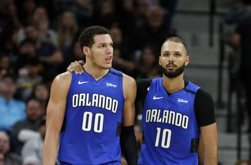Evan Fournier and Aaron Gordon missed opportunities that led to a frustrating Orlando Magic loss. (Photo by Ronald Cortes/Getty Images)