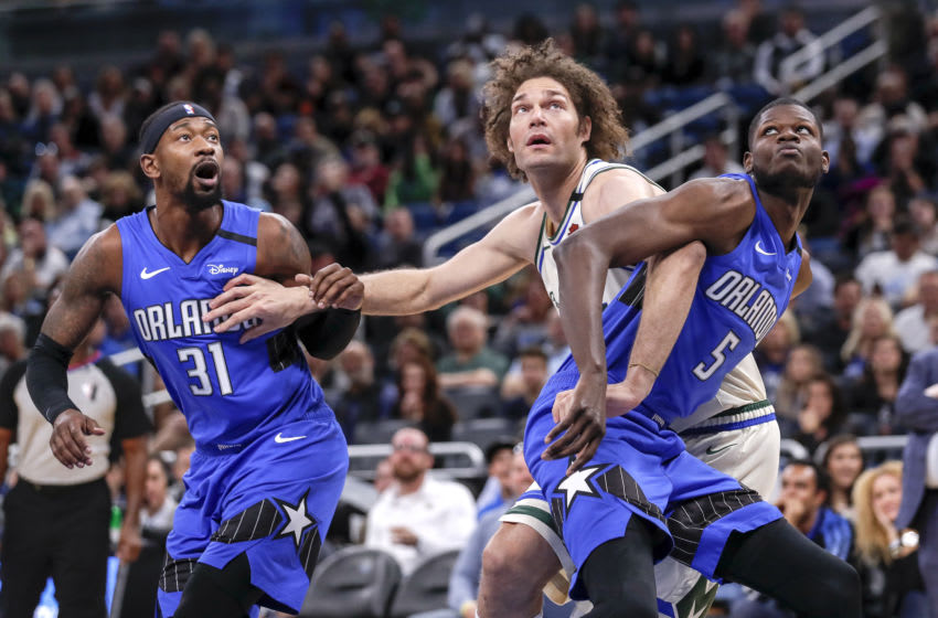 The Orlando Magic are one of the best rebounding teams in the league, but the Milwaukee Bucks found a way to break their streak. (Photo by Don Juan Moore/Getty Images)