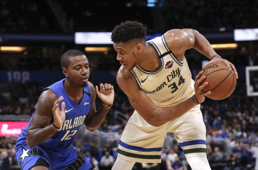 The Orlando Magic slowed down Giannis Antetokounmpo, but could not slow down the Milwaukee Bucks. (Photo by Don Juan Moore/Getty Images)
