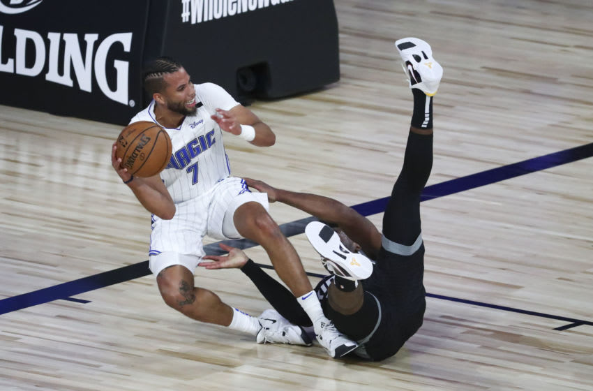 Michael Carter-Williams was one of the many Orlando Magic players who dealt with injuries inside the bubble. (Photo by Kim Klement-Pool/Getty Images)