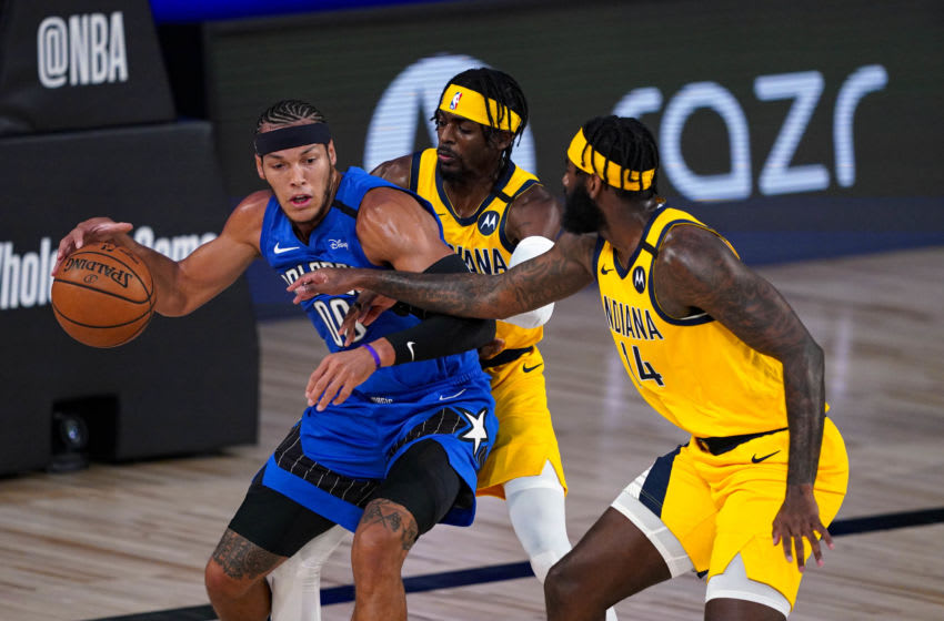 Aaron Gordon will become the most important player for the Orlando Magic without backup at power forward. (Photo by Ashley Landis - Pool/Getty Images)