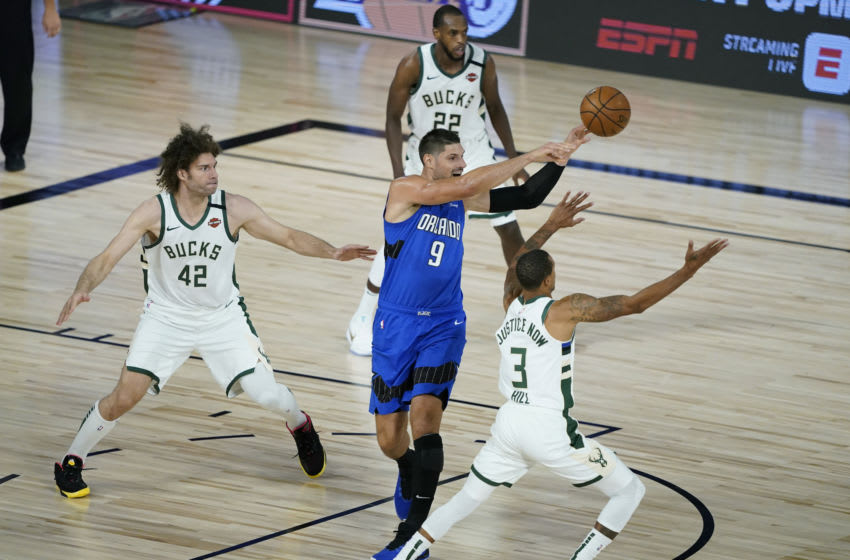 The Orlando Magic are desperate for a win in Game 4 against the Milwaukee Bucks. (Photo by Ashley Landis - Pool/Getty Images)