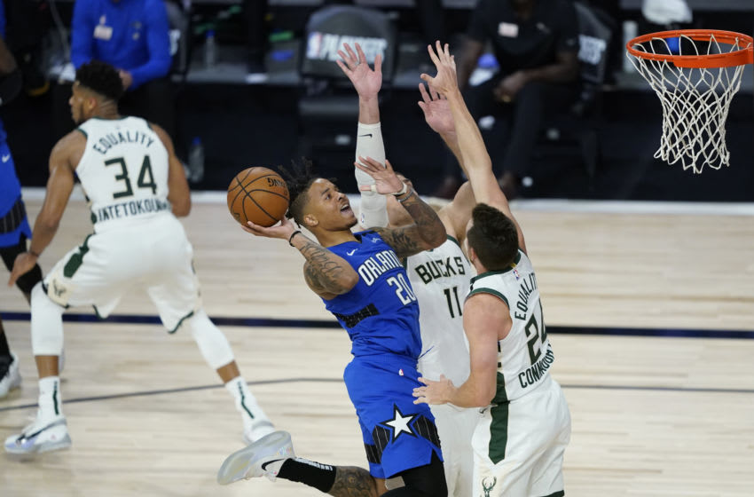 Markelle Fultz does a lot to control the Orlando Magic's pace and rhythm in each game. (Photo by Ashley Landis - Pool/Getty Images)