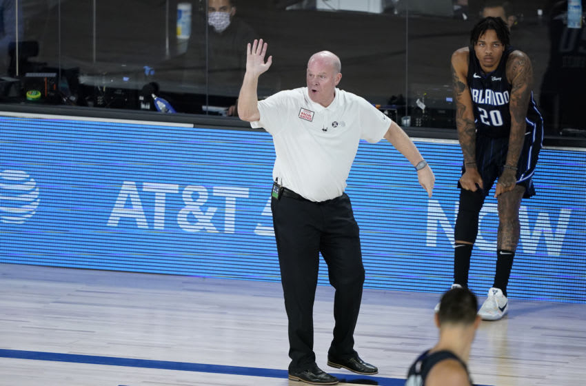 Orlando Magic coach Steve Clifford has put the team in the best position to win. But he made critical errors as the Milwaukee Bucks made their fourth-quarter push. (Photo by Ashley Landis - Pool/Getty Images)