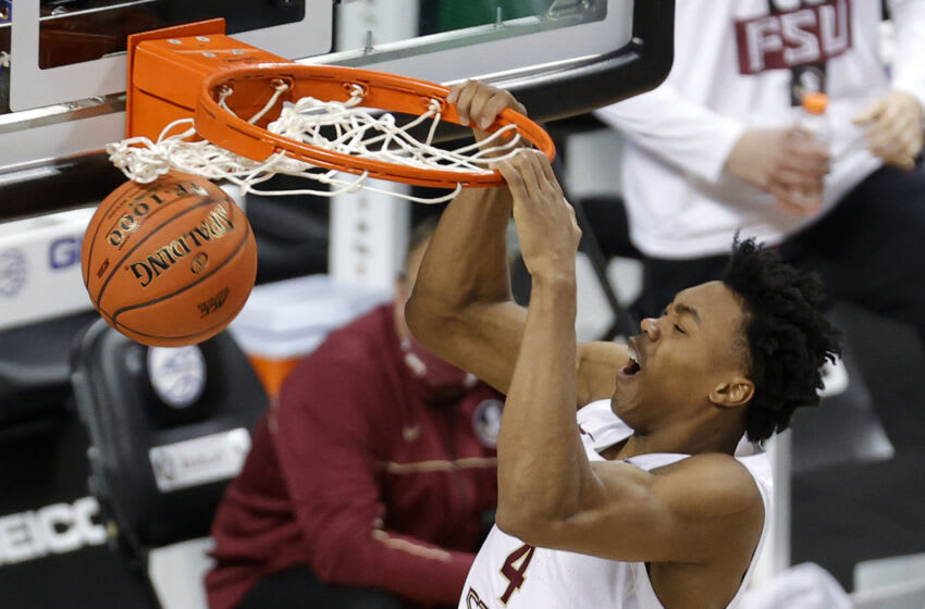 A new report has the Orlando Magic targeting Florida State Seminoles forward Scottie Barnes. (Photo by Jared C. Tilton/Getty Images)
