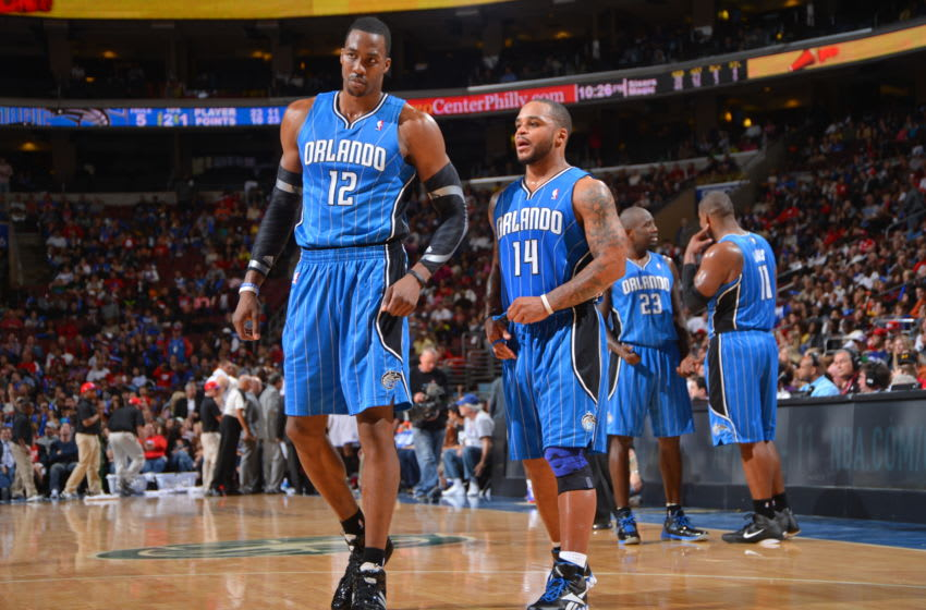 Dwight Howard and Jameer Nelson saw their era end in the 2010s. But they are still titans in the Orlando Magic's history. (Photo by Jesse D. Garrabrant/NBAE via Getty Images)