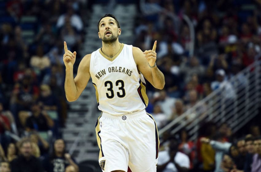 Ryan Anderson was a sharpshooter for the Orlando Magic who could get brought back as the shooter the team needs. (Photo by Stacy Revere/Getty Images)