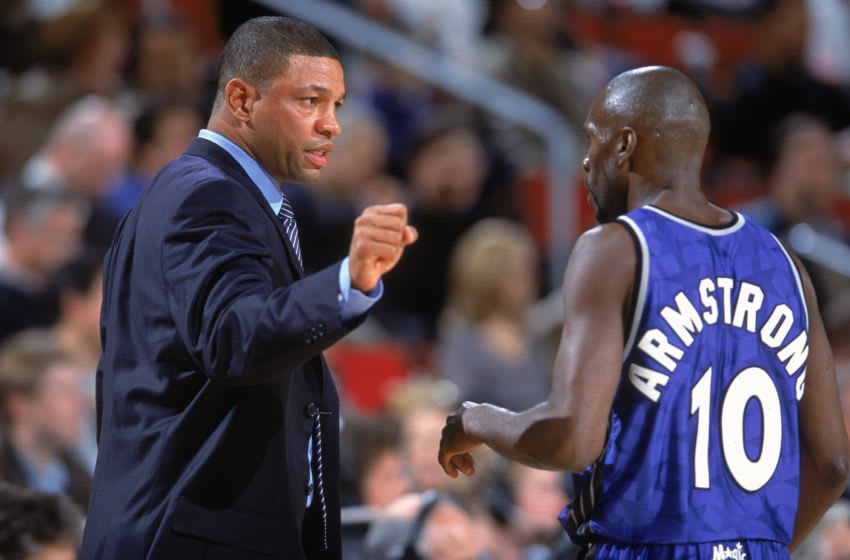 Darrell Armstrong and Doc Rivers headlines the Orlando Magic's Heart & Hustle team, a group that deserves its story told. (Mandatory Credit: Otto Greule Jr. /Allsport)
