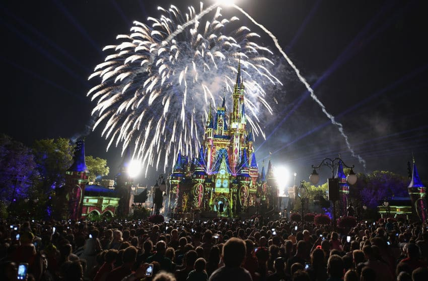 Walt Disney World Resort could end up hosting the NBA's 2020 season. (Photo by Gustavo Caballero/Getty Images)