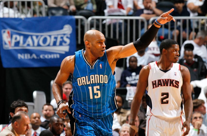 Vince Carter's time with the Orlando Magic fell short of a title, but the good memories still win out in the end. (Photo by Kevin C. Cox/Getty Images)
