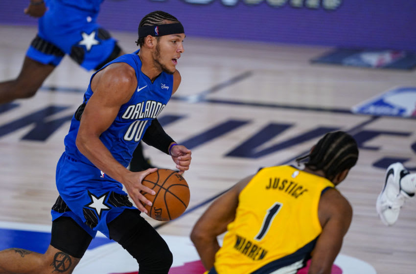 Aaron Gordon's future with the Orlando Magic could determine where the team heads next. (Photo by Ashley Landis-Pool/Getty Images)