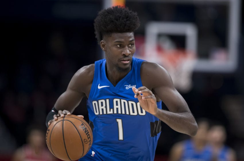 Orlando Magic forward Jonathan Isaac is eager to return to the practice facility and the court. (Photo by Scott Taetsch/Getty Images)