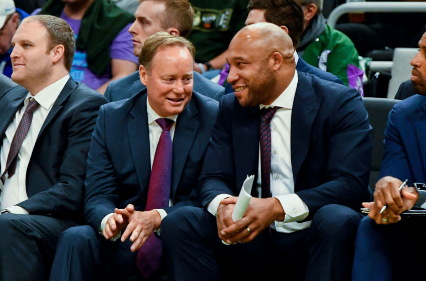 Darvin Ham has been coaching alongside Mike Budenholzer for several years as Budenholzer's tree is starting to grow. Mandatory Credit: Matt Marton-USA TODAY Sports