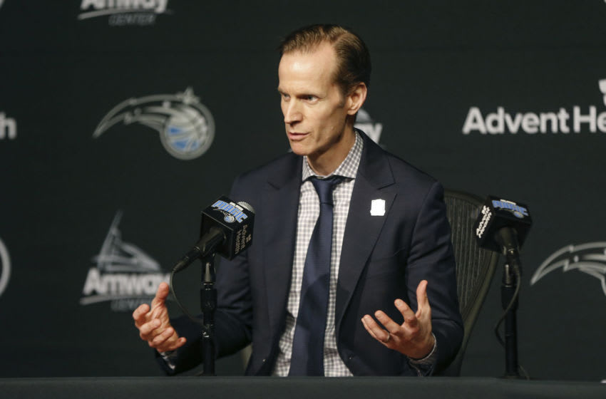 Orlando Magic president of basketball operations Jeff Weltman has not been the most active executive, but somebody likes the job he is doing. Mandatory Credit: Reinhold Matay-USA TODAY Sports